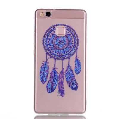 for Huawei P9 Lite Blue Bell Soft Clear TPU Phone Casing Mobile Smartphone Cover Shell Case