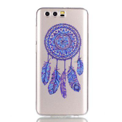 for Huawei Honor 9  Blue Bell Soft Clear TPU Phone Casing Mobile Smartphone Cover Shell Case
