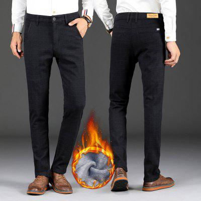 Mens Fleece Lined Skinny Winter Slim Fit Thicken Warm Stretch PantsMens Pants<br>Mens Fleece Lined Skinny Winter Slim Fit Thicken Warm Stretch Pants<br><br>Closure Type: Zipper Fly<br>Elasticity: Micro-elastic<br>Fabric Type: Broadcloth<br>Fit Type: Straight<br>Length: Normal<br>Material: Cotton, Polyester<br>Package Contents: 1 x Pants<br>Package size (L x W x H): 1.00 x 1.00 x 1.00 cm / 0.39 x 0.39 x 0.39 inches<br>Package weight: 0.5000 kg<br>Pant Style: Straight<br>Pattern Type: Letter<br>Style: Casual<br>Thickness: Thick<br>Waist Type: Mid