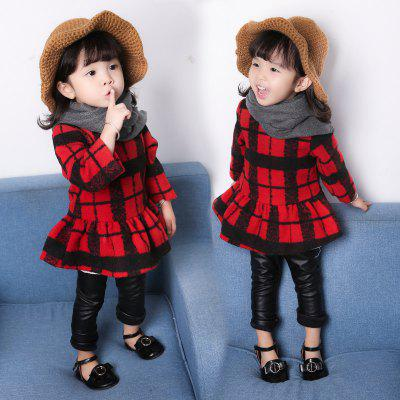 GirlS Spring - Fall Red Checked Long Sleeve DressGirls dresses<br>GirlS Spring - Fall Red Checked Long Sleeve Dress<br><br>Dresses Length: Knee-Length<br>Elasticity: Micro-elastic<br>Material: Cotton, Polyester<br>Neckline: Round Collar<br>Package Contents: 1xDress<br>Pattern Type: Geometric<br>Season: Spring<br>Silhouette: Pleated<br>Sleeve Length: Long Sleeves<br>Style: Cute<br>Waist: Natural<br>Weight: 0.1000kg<br>With Belt: No