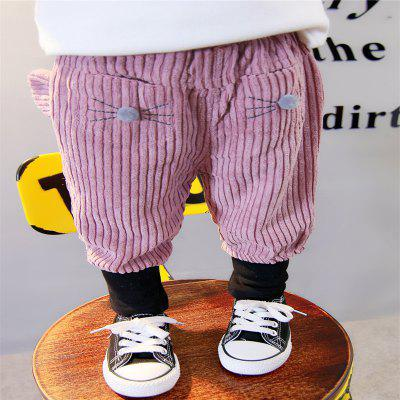 GirlS Corduroy Cartoon Small - Colored SlacksGirls bottoms<br>GirlS Corduroy Cartoon Small - Colored Slacks<br><br>Closure Type: Elastic Waist<br>Elasticity: Elastic<br>Embellishment: Appliques,Flocking<br>Fabric Type: Flannel<br>Fit Type: Loose<br>Front Style: Flat<br>Length: Normal<br>Material: Cotton, Cotton Blend<br>Package Contents: 1x The trousers<br>Pant Style: Wide Leg Pants<br>Pattern Type: Character<br>Style: Cute<br>Waist Type: Mid<br>Weight: 0.1000kg