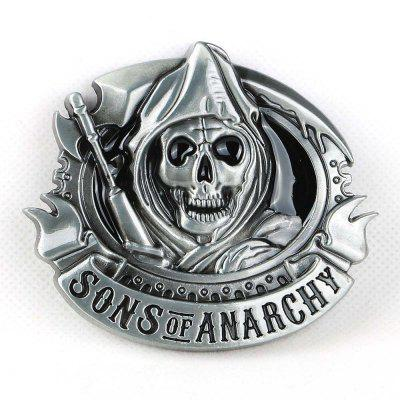Sons Of Anarchy Metal Belt  Buckle