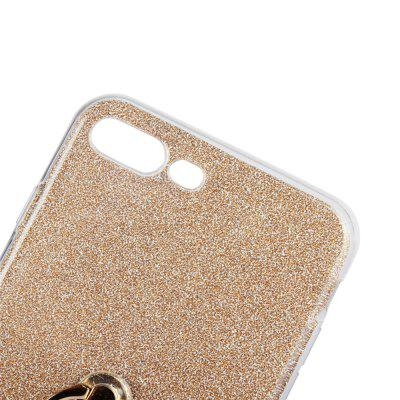 For iPhone 8 Plus Flash Powder Ring Holder Phone Shell Soft CaseiPhone Cases/Covers<br>For iPhone 8 Plus Flash Powder Ring Holder Phone Shell Soft Case<br><br>Compatible for Apple: iPhone 8 Plus<br>Features: Back Cover, Cases with Stand<br>JJ: 4E02<br>Material: Glitter Paper, TPU<br>Package Contents: 1 x Phone Case<br>Package size (L x W x H): 17.00 x 7.00 x 1.00 cm / 6.69 x 2.76 x 0.39 inches<br>Package weight: 0.3000 kg<br>Style: Novelty
