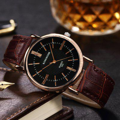 Fashion Roman Numerals Leather Strap Analog Waterproof WatchMens Watches<br>Fashion Roman Numerals Leather Strap Analog Waterproof Watch<br><br>Band material: Genuine Leather<br>Band size: 2CM<br>Case material: Stainless Steel<br>Clasp type: Pin buckle<br>Dial size: 3.8CM<br>Display type: Analog<br>Movement type: Quartz watch<br>Package Contents: 1 x Watch,1 x Watch Box<br>Package size (L x W x H): 9.00 x 8.50 x 5.50 cm / 3.54 x 3.35 x 2.17 inches<br>Package weight: 0.1500 kg<br>Product size (L x W x H): 23.00 x 3.80 x 0.80 cm / 9.06 x 1.5 x 0.31 inches<br>Product weight: 0.0750 kg<br>Shape of the dial: Round<br>Watch mirror: Mineral glass<br>Watch style: Business, Retro, Fashion, Casual<br>Watches categories: Men<br>Water resistance: 30 meters