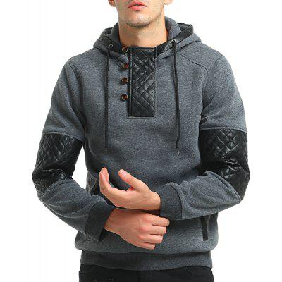 Men Fashion Quilting  Blazer Casual HoodieMens Hoodies &amp; Sweatshirts<br>Men Fashion Quilting  Blazer Casual Hoodie<br><br>Material: Cotton, Polyester<br>Package Contents: 1x Hoodie<br>Shirt Length: Regular<br>Sleeve Length: Full<br>Style: Fashion<br>Weight: 0.5300kg