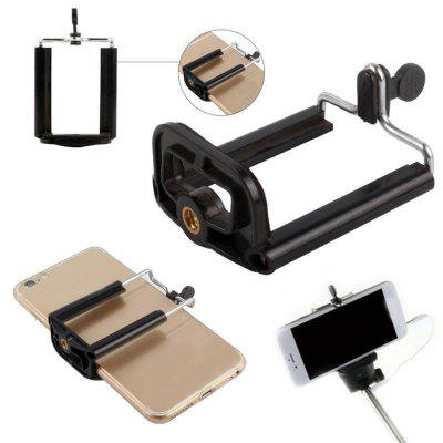 Hot Universal Mobile Phones Phone Clip Clamp Rack U-Slot Bracket Selfie Bracket Tripod AccessoriesStands &amp; Holders<br>Hot Universal Mobile Phones Phone Clip Clamp Rack U-Slot Bracket Selfie Bracket Tripod Accessories<br><br>Material: Plastic<br>Package Contents: 1 x Universal U-shaped mobile phone clip<br>Package size (L x W x H): 10.00 x 10.00 x 5.00 cm / 3.94 x 3.94 x 1.97 inches<br>Package weight: 0.0400 kg<br>Product size (L x W x H): 8.30 x 5.10 x 2.70 cm / 3.27 x 2.01 x 1.06 inches<br>Product weight: 0.0200 kg