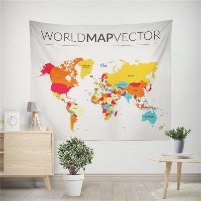 Handmade High Definition Digital Printing World Map Wall TapestryHome Gadgets<br>Handmade High Definition Digital Printing World Map Wall Tapestry<br><br>Materials: Polyester<br>Package Contents: 1 x tapestry<br>Package Size(L x W x H): 25.00 x 45.00 x 0.20 cm / 9.84 x 17.72 x 0.08 inches<br>Package weight: 0.1800 kg<br>Product weight: 0.1500 kg