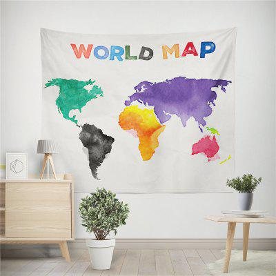 Handmade High Definition Digital Printing World Map Wall Tapestry tannoy definition dc8 high gloss walnut