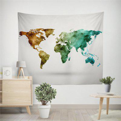 Handmade High Definition Digital Printing World Map Wall TapestryHome Gadgets<br>Handmade High Definition Digital Printing World Map Wall Tapestry<br><br>Materials: Polyester<br>Package Contents: 1 x tapestry<br>Package Size(L x W x H): 25.00 x 45.00 x 0.20 cm / 9.84 x 17.72 x 0.08 inches<br>Package weight: 0.1500 kg<br>Product weight: 0.1500 kg