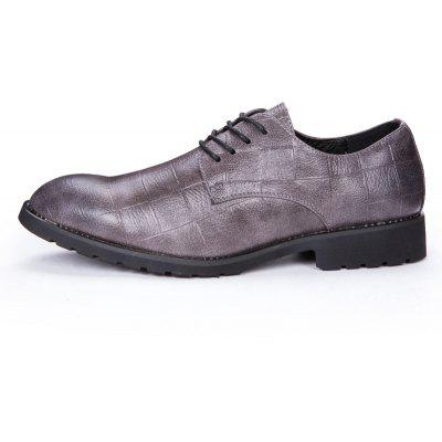 Men Business Casual Dress Leather ShoesFormal Shoes<br>Men Business Casual Dress Leather Shoes<br><br>Available Size: 38-43<br>Closure Type: Lace-Up<br>Embellishment: None<br>Gender: For Men<br>Occasion: Dress<br>Outsole Material: Rubber<br>Package Contents: 1 x pair of shoes<br>Pattern Type: Plaid<br>Season: Summer, Winter, Spring/Fall<br>Toe Shape: Pointed Toe<br>Toe Style: Closed Toe<br>Upper Material: Leather<br>Weight: 1.2000kg