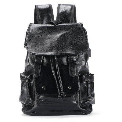 Leather Backpack Travel Fashion Rucksack Drawstring Knapsack Back BagBackpacks<br>Leather Backpack Travel Fashion Rucksack Drawstring Knapsack Back Bag<br><br>For: Adventure, Climbing, Fishing, Cycling, Camping, Hiking, Traveling<br>Material: PU Leather<br>Package Contents: 1 x Backpack<br>Package size (L x W x H): 40.00 x 23.00 x 5.00 cm / 15.75 x 9.06 x 1.97 inches<br>Package weight: 1.0000 kg<br>Product weight: 0.9800 kg<br>Type: Backpack