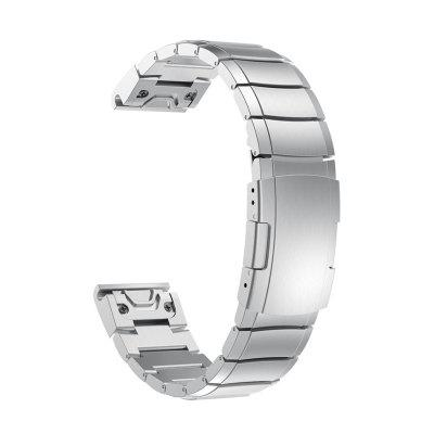 Replacement Stainless Steel Metal Straps Quick Release Bracelet for Garmin Fenix 5S