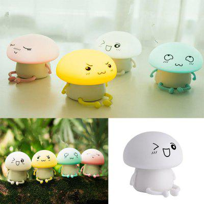 KWB Cute Silicone Touch Sensor LED Night Light Color Changing Breathing Lampt 4PCSNight Lights<br>KWB Cute Silicone Touch Sensor LED Night Light Color Changing Breathing Lampt 4PCS<br><br>Battery Quantity: 1<br>Color Temperature or Wavelength: white ,warm white , pink ,green<br>Connector Type: USB<br>Features: Rechargeable<br>Light Source Color: RGB<br>Light Type: LED<br>Package Contents: 4 x Silicone Night Light , 1 x USB cable<br>Package size (L x W x H): 44.00 x 44.00 x 44.20 cm / 17.32 x 17.32 x 17.4 inches<br>Package weight: 1.0400 kg<br>Power Source: USB charging<br>Product size (L x W x H): 10.60 x 10.60 x 10.80 cm / 4.17 x 4.17 x 4.25 inches<br>Product weight: 0.9000 kg<br>Quantity: 1<br>Style: Cartoon<br>Wattage: 1W