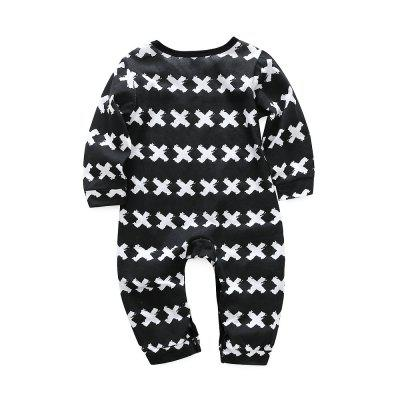 Kimocat Spring Baby Climbing Clothes Pure Cotton Long Sleeve Letter Jumpsuitbaby rompers<br>Kimocat Spring Baby Climbing Clothes Pure Cotton Long Sleeve Letter Jumpsuit<br><br>Closure Type: Covered Button<br>Collar: Round Neck<br>Fabric Type: Jersey<br>Gender: Boy<br>Material: Cotton<br>Package Contents: 1 x Jumpsuit<br>Season: Spring<br>Sleeve Length: Full<br>Style: Europe and the United States<br>Thickness: Thin<br>Weight: 0.1092kg