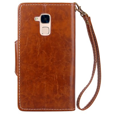 Retro Wax Oil Card Lanyard Pu Leather Cover for HUAWEI Honor 5CCases &amp; Leather<br>Retro Wax Oil Card Lanyard Pu Leather Cover for HUAWEI Honor 5C<br><br>Color: Black,Red,Blue,Gray,Light Brown<br>Features: Full Body Cases, Cases with Stand, With Credit Card Holder<br>Mainly Compatible with: HUAWEI<br>Material: PU Leather, TPU<br>Package Contents: 1 x Case<br>Package size (L x W x H): 16.00 x 9.00 x 2.00 cm / 6.3 x 3.54 x 0.79 inches<br>Package weight: 0.0700 kg<br>Product Size(L x W x H): 15.30 x 8.00 x 1.50 cm / 6.02 x 3.15 x 0.59 inches<br>Product weight: 0.0620 kg<br>Style: Vintage/Nostalgic Euramerican Style, Novelty, Name Brand Style