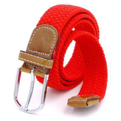 Woven Elastic Elasticed Belt Women'S Fashion Canvas