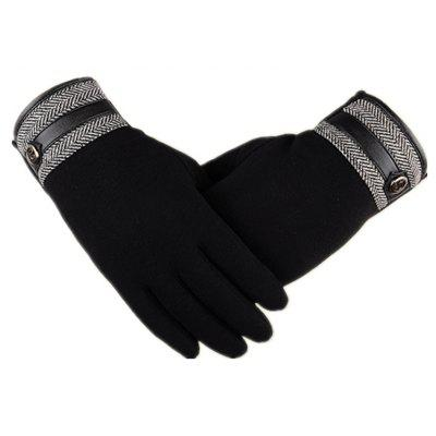 Guanti Touch Screen Lovers Cashmere Wool Cashmere Car Riding and Leisure Style in autunno e inverno