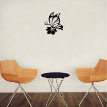 DSU Butterfly with Flower Vinyl Wall Sticker coupons