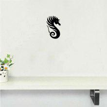DSU Newest Cute Seahorse Vinyl Wall Sticker coupons
