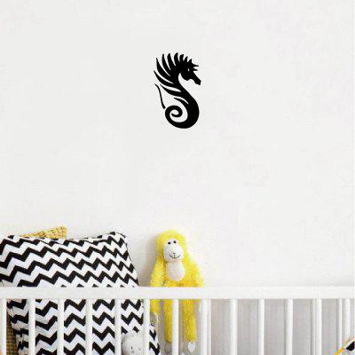 DSU Newest Cute Seahorse Vinyl Wall Sticker Creative Cartoon Animal Wall Decal Home DecorWall Stickers<br>DSU Newest Cute Seahorse Vinyl Wall Sticker Creative Cartoon Animal Wall Decal Home Decor<br><br>Brand: DSU<br>Function: Light Switch Stickers, Decorative Wall Sticker, Fridge Sticker<br>Material: Vinyl(PVC)<br>Package Contents: 1 x Wall Sticker<br>Package size (L x W x H): 12.00 x 2.00 x 2.00 cm / 4.72 x 0.79 x 0.79 inches<br>Package weight: 0.0700 kg<br>Product size (L x W x H): 15.30 x 9.50 x 0.10 cm / 6.02 x 3.74 x 0.04 inches<br>Product weight: 0.0400 kg<br>Quantity: 1<br>Subjects: Fashion,Others<br>Suitable Space: Garden,Living Room,Bathroom,Bedroom<br>Type: Plane Wall Sticker