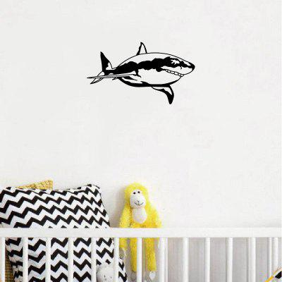 DSU Creative Shark Vinyl Wall Sticker Cartoon Animal Wall Decal Home DecorWall Stickers<br>DSU Creative Shark Vinyl Wall Sticker Cartoon Animal Wall Decal Home Decor<br><br>Brand: DSU<br>Function: 3D Effect, Decorative Wall Sticker, Light Switch Stickers<br>Material: Vinyl(PVC)<br>Package Contents: 1 x Wall Sticker<br>Package size (L x W x H): 12.00 x 3.00 x 3.00 cm / 4.72 x 1.18 x 1.18 inches<br>Package weight: 0.0600 kg<br>Product size (L x W x H): 18.00 x 10.30 x 0.10 cm / 7.09 x 4.06 x 0.04 inches<br>Product weight: 0.0300 kg<br>Quantity: 1<br>Subjects: Fashion,Others<br>Suitable Space: Living Room,Bedroom<br>Type: Plane Wall Sticker, 3D Wall Sticker