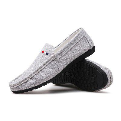 Men Fashion Peas Shoes Slip on Loafers Leisure Casual Drive SneakersMen Fashion Peas Shoes Slip on Loafers Leisure Casual Drive Sneakers<br><br>Available Size: 39-44<br>Closure Type: Slip-On<br>Embellishment: None<br>Gender: For Men<br>Outsole Material: Rubber<br>Package Contents: 1?Shoes(pair)<br>Pattern Type: Solid<br>Season: Spring/Fall<br>Toe Shape: Round Toe<br>Toe Style: Closed Toe<br>Upper Material: PU<br>Weight: 1.2000kg