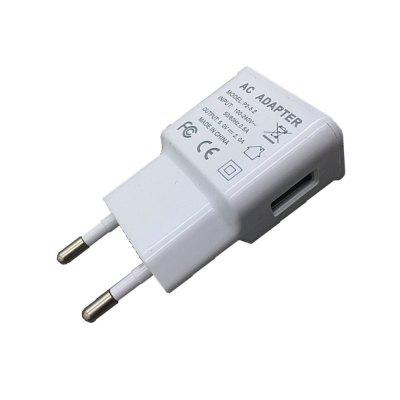 Universal One USB 5V 2A Mobile Phone Charger Charging Fast WhiteOther Cell Phone Accessories<br>Universal One USB 5V 2A Mobile Phone Charger Charging Fast White<br><br>Color: White<br>Compatible Devices: Samsung Mobile Phone, Samsung Tablet, Universal<br>Mainly Compatible with: iPhone 5/5S, Samsung S6, Universal, Motorola, Sony Ericsson, LG, HTC One M9, Samsung Galaxy S6 Edge Plus, iPhone 6, Nokia Lumia 920/820, Google Nexus 4/5, GSM+WCDMA, Samsung Galaxy S6 Edge, Samsung Galaxy Note i9220, Samsung Galaxy Premier i9260/i9268, Galaxy Note 2 N7100, iPhone 5C, iPhone 4/4S, Google Nexus 7 2nd, Samsung Note 5, Galaxy Note 4, Z3 Compact, Xperia Z3, Blackberry, Nokia, HTC, HTC 8X, SAMSUNG, Apple, Xiaomi, Zenfone, Lumia 830, GALAXY Mega2, Galaxy Note 3 N9000, Samsung Galaxy S3 I9300, Samsung Galaxy S4 I9500/I9505, G2, Moto X+1, D7, Mate 7, Lumia 730<br>Package Contents: 1 x Charger<br>Package size (L x W x H): 10.00 x 7.00 x 2.60 cm / 3.94 x 2.76 x 1.02 inches<br>Package weight: 0.0370 kg<br>Product size (L x W x H): 7.10 x 3.80 x 2.40 cm / 2.8 x 1.5 x 0.94 inches<br>Product weight: 0.0310 kg