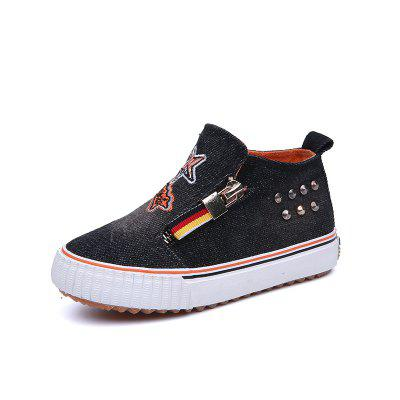 New Men and Women's Boys and Girls' Feet Cowboy Canvas Shoes