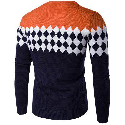 Autumn Winter Men Fashion Diamond Grid V-Neck Knit SweaterMens Sweaters &amp; Cardigans<br>Autumn Winter Men Fashion Diamond Grid V-Neck Knit Sweater<br><br>Collar: Round Collar<br>Hooded: No<br>Material: Cotton, Cashmere, Polyester<br>Package Contents: 1x Sweater<br>Package size (L x W x H): 1.00 x 1.00 x 1.00 cm / 0.39 x 0.39 x 0.39 inches<br>Package weight: 0.5000 kg<br>Pattern Type: Geometric<br>Product weight: 0.4500 kg<br>Size1: M,L,XL,2XL<br>Sleeve Length: Full<br>Sleeve Style: Regular<br>Style: Casual<br>Technics: Flat Knitted<br>Thickness: Standard<br>Type: Pullovers<br>Wool: Standard Wool