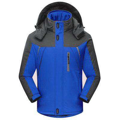 Plus Size Ski-Wear Outdoor Weatherproof Sport Coat