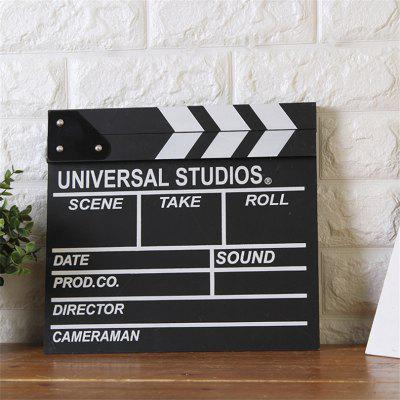 Creative Home Decoration FilmCrafts<br>Creative Home Decoration Film<br><br>Material: Wood<br>Package Contents: 1 x Decoration<br>Package size (L x W x H): 30.00 x 27.00 x 2.00 cm / 11.81 x 10.63 x 0.79 inches<br>Package weight: 0.4000 kg