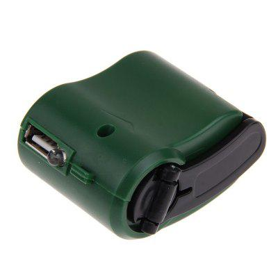Charger for Mobile Phone MP3 MP4 Travel Cell USB Hand Crank Manual Dynamo EmergencyChargers &amp; Cables<br>Charger for Mobile Phone MP3 MP4 Travel Cell USB Hand Crank Manual Dynamo Emergency<br><br>Accessories type: Power Adapter<br>Colors: Black,Blue,Green<br>Material: ABS<br>Package Contents: 1 x USB Hand Dynamo Charger with Light<br>Package size (L x W x H): 10.00 x 6.00 x 4.00 cm / 3.94 x 2.36 x 1.57 inches<br>Package weight: 0.0800 kg<br>Product size (L x W x H): 5.80 x 4.60 x 3.10 cm / 2.28 x 1.81 x 1.22 inches<br>Product weight: 0.0700 kg