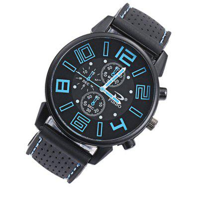 Casual Quartz Analog Silicone Stainless Steel Dial Sports WristWatchMens Watches<br>Casual Quartz Analog Silicone Stainless Steel Dial Sports WristWatch<br><br>Available Color: White,Red,Blue,Green,Orange,Yellow<br>Band material: Silicone<br>Case material: Zinc Alloy<br>Clasp type: Buckle<br>Dial size: 42mm<br>Movement type: Quartz watch<br>Package Contents: 1 x Wrist Watch<br>Package size (L x W x H): 15.00 x 6.00 x 4.00 cm / 5.91 x 2.36 x 1.57 inches<br>Package weight: 0.0700 kg<br>Product weight: 0.0600 kg<br>Shape of the dial: Round<br>Watch mirror: Resin glass<br>Watch style: Outdoor Sports, Casual<br>Watches categories: Men
