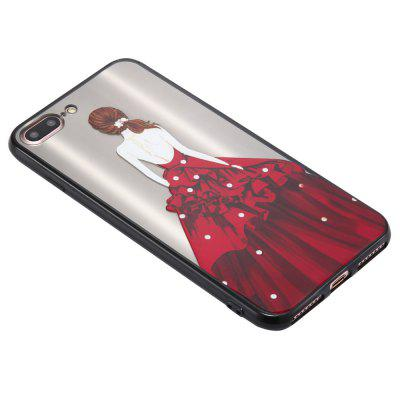 Case for iPhone 8 Plus Non-slip Embossed Back of Drill Red Skirt Girl PatterniPhone Cases/Covers<br>Case for iPhone 8 Plus Non-slip Embossed Back of Drill Red Skirt Girl Pattern<br><br>Features: Back Cover<br>Material: TPU, PC<br>Package Contents: 1 x Phone Case<br>Package size (L x W x H): 15.00 x 7.00 x 1.00 cm / 5.91 x 2.76 x 0.39 inches<br>Package weight: 0.0220 kg<br>Product size (L x W x H): 14.00 x 6.70 x 0.50 cm / 5.51 x 2.64 x 0.2 inches<br>Product weight: 0.0200 kg<br>Style: Beautiful Girl