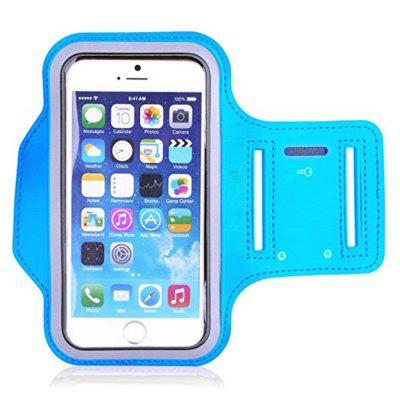 Water Resistant Cell Phone Armband 5.2 Inch Case Adjustable Reflective Workout Band