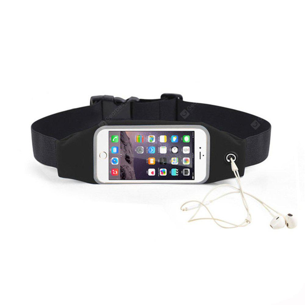 Sports Case Pouch for 5.5 Inch Mobile Phone Universal Waist Phone Bag Waterproof