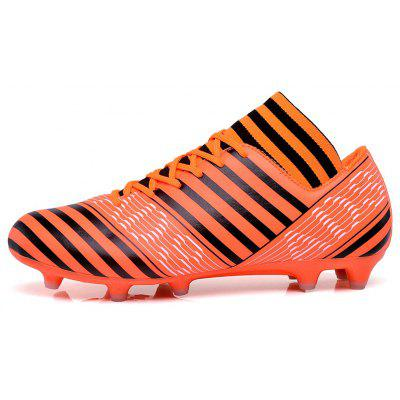 AG Football Shoes Soccer for AdultAthletic Shoes<br>AG Football Shoes Soccer for Adult<br><br>Available Size: 31,32,33,34,35,36,37,38,39,40,41,42,43,44<br>Closure Type: Lace-Up<br>Feature: Breathable<br>Gender: Unisex<br>Insole Material: PU<br>Lining Material: Cotton Fabric<br>Outsole Material: Rubber<br>Package Contents: 1xShoes(pair)<br>Package Size(L x W x H): 30.00 x 20.00 x 10.00 cm / 11.81 x 7.87 x 3.94 inches<br>Package weight: 0.8000 kg<br>Pattern Type: Print<br>Season: Spring/Fall<br>Shoe Width: Medium(B/M)<br>Upper Material: PU