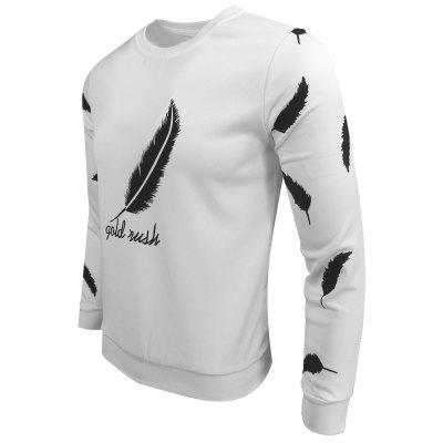 Mens Wear Spring Fall Round Collage of The Feather Sport Leisure Fashionable Long Sleeve SweatshirtMens Hoodies &amp; Sweatshirts<br>Mens Wear Spring Fall Round Collage of The Feather Sport Leisure Fashionable Long Sleeve Sweatshirt<br><br>Material: Cotton Blends<br>Package Contents: 1XSweatshirt<br>Shirt Length: Regular<br>Sleeve Length: Full<br>Style: Fashion<br>Weight: 0.3000kg