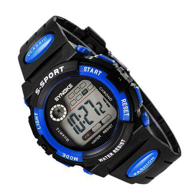 SYNOKE LED Digital Children Watch Kids Watches Girls Boys Clock Child Sport Wristwatch diray dr 306g children digital watch