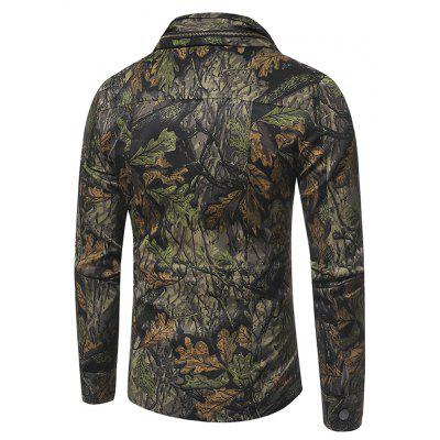 Spring and Autumn Forest Camouflage and Multi Pocket Mens Casual JacketMens Jackets &amp; Coats<br>Spring and Autumn Forest Camouflage and Multi Pocket Mens Casual Jacket<br><br>Clothes Type: Jackets<br>Collar: Turn-down Collar<br>Material: Cotton<br>Package Contents: 1xJacket<br>Season: Spring, Fall<br>Shirt Length: Regular<br>Sleeve Length: Long Sleeves<br>Style: Punk<br>Weight: 0.6000kg