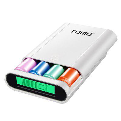 TOMO S4 Authentic DIY 4 x 18650 Li-ion Battery Power Charger