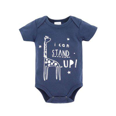 Wuawua 3 piece a lot Baby Bodysuit Short Sleeve Cotton Romperbaby rompers<br>Wuawua 3 piece a lot Baby Bodysuit Short Sleeve Cotton Romper<br><br>Closure Type: Pullover<br>Collar: Round Neck<br>Gender: Unisex<br>Material: Cotton<br>Package Contents: 1Xbodysuit<br>Season: Summer<br>Sleeve Length: Short<br>Thickness: General<br>Weight: 0.2400kg