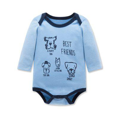 Wuawua 3pieces a lot Baby Bodysuit Long Sleeve Cotton Print Romperbaby rompers<br>Wuawua 3pieces a lot Baby Bodysuit Long Sleeve Cotton Print Romper<br><br>Closure Type: Pullover<br>Collar: Round Neck<br>Gender: Unisex<br>Material: Cotton<br>Package Contents: 3 X Bodysuit<br>Season: Autumn<br>Sleeve Length: Full<br>Thickness: General<br>Weight: 0.2400kg
