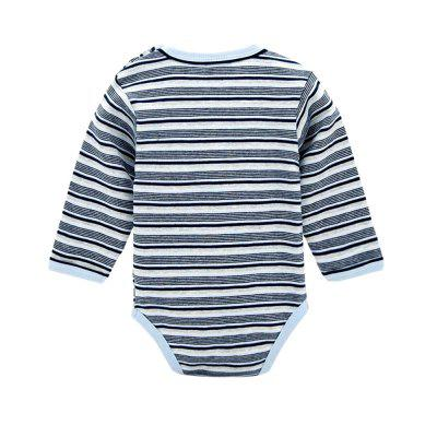 Wuawua Baby Bodysuit Long Sleeve Cotton Stripe Romperbaby rompers<br>Wuawua Baby Bodysuit Long Sleeve Cotton Stripe Romper<br><br>Closure Type: Pullover<br>Collar: Round Neck<br>Gender: Girl<br>Material: Cotton<br>Package Contents: 1 X bodysuit<br>Season: Autumn<br>Sleeve Length: Full<br>Thickness: General<br>Weight: 0.0800kg