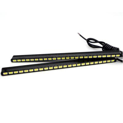 2 x 15.5CM Daytime Running Light 24SMD Ultra White Waterproof DRL High Power Car Day Running LightCar Headlights<br>2 x 15.5CM Daytime Running Light 24SMD Ultra White Waterproof DRL High Power Car Day Running Light<br><br>Adaptable automobile mode: Suzuki, Jeep, Kia, Nissan, Opel, Toyota, Universal, Volkswagen, Volvo, Honda, Ford, Citroen, Buick, Audi<br>Apply lamp position: External Lights<br>Apply To Car Brand: Universal<br>Chip type: SMD 5730<br>Color temperatures: 6000-6500K<br>Connector: No<br>Emitting color: White<br>LED Quantity: 24SMD<br>Lumens: 1100LM<br>Model: DRL-24SMD<br>Package Contents: 2 x Daytime Running Light<br>Package size (L x W x H): 18.00 x 5.00 x 5.00 cm / 7.09 x 1.97 x 1.97 inches<br>Package weight: 0.1300 kg<br>Power: 9W<br>Product size (L x W x H): 17.50 x 1.50 x 0.50 cm / 6.89 x 0.59 x 0.2 inches<br>Product weight: 0.1100 kg<br>Type: Daytime Running Lamp, Fog Light<br>Type of lamp-house: LED<br>Voltage: 12V/DC