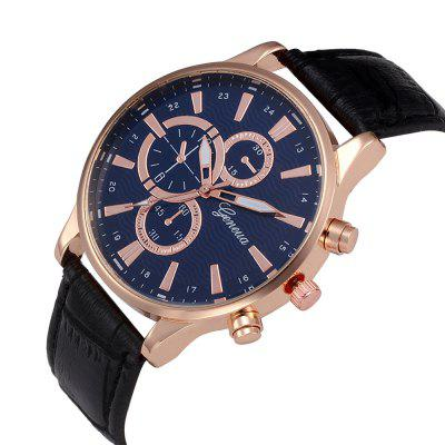 Fashion Date Watch With MenS Leather Watch Business Casual WatchesMens Watches<br>Fashion Date Watch With MenS Leather Watch Business Casual Watches<br><br>Available Color: Black<br>Band material: Leather<br>Band size: 2.1<br>Case material: Alloy<br>Clasp type: Pin buckle<br>Dial size: 4.0<br>Display type: Analog<br>Movement type: Quartz watch<br>Package Contents: 1 x Watch 1 x Box<br>Package size (L x W x H): 8.50 x 8.50 x 6.00 cm / 3.35 x 3.35 x 2.36 inches<br>Package weight: 0.0700 kg<br>Product size (L x W x H): 24.00 x 4.00 x 0.80 cm / 9.45 x 1.57 x 0.31 inches<br>Product weight: 0.0450 kg<br>Shape of the dial: Round<br>Special features: Decorative sub-dial<br>Watch mirror: Mineral glass<br>Watch style: Trends in outdoor sports, Casual, Business, Fashion<br>Watches categories: Men<br>Water resistance: Life water resistant<br>Wearable length: 24