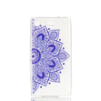 for Sony XZ1 Compact Ethnic Style Soft Clear TPU Phone Casing Mobile Smartphone Cover Shell Case for iphone 7 ethnic style soft clear tpu phone casing mobile smartphone cover shell case