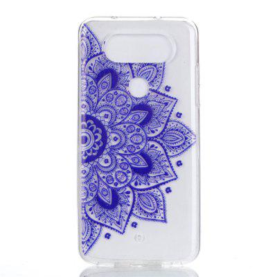 for LG Q8 Ethnic Style Soft Clear TPU Phone Casing Mobile Smartphone Cover Shell Case for iphone 7 smile painted soft clear tpu phone casing mobile smartphone cover shell case