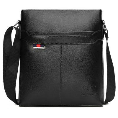 Buy BLACK VERTICAL Men'S Business Single Shoulder Bag for $25.33 in GearBest store
