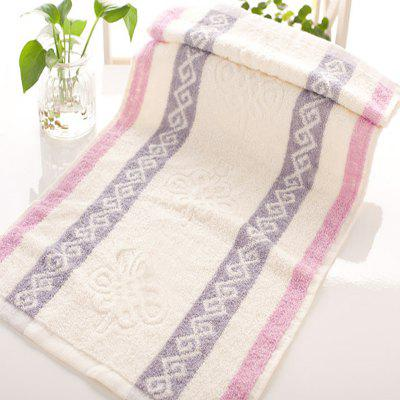 1Pc Toalha de rosto Classic Modern Colored Sides Supper Comfy Towel